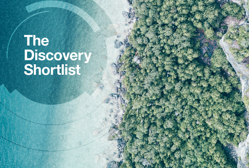 Discovery Shortlist Showcase Card